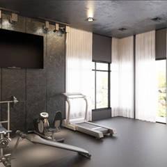 moderner Fitnessraum von Enrich Artlife & Interior Design Sdn Bhd
