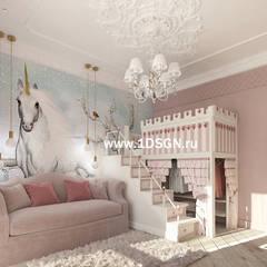 Girls Bedroom by Дизайн студия 'Дизайнер интерьера № 1'