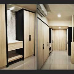 璞舍-0N.5室:  更衣室 by 喬克諾空間設計
