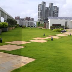 Axis Bank - Worli:  Zen garden by Ferntastica Gardens Limited