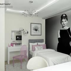 Camera ragazze in stile  di ARTWAY центр профессиональных дизайнеров и строителей