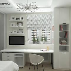 غرفة نوم بنات تنفيذ ARTWAY центр профессиональных дизайнеров и строителей