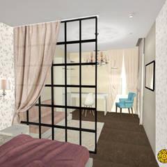 ห้องนอนเด็กหญิง by ARTWAY центр профессиональных дизайнеров и строителей