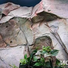 Искусственные скалы для Москвариума: Зимние сады в . Автор – Архитектурно-производственная группа ИОЛЛА