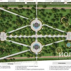 Аллея героев. Мастер план: Передний двор в . Автор – Архитектурно-производственная группа ИОЛЛА