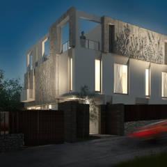 """Пример применения фасадные панелей """"Верески"""": Загородные дома в . Автор – Архитектурно-производственная группа ИОЛЛА"""