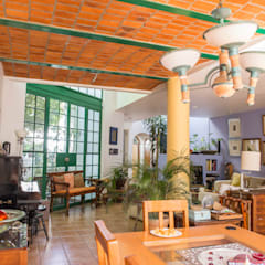 Comedores de estilo  por Bojorquez Arquitectos SA de CV