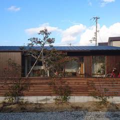 Деревянные дома в . Автор – I Live Architects/田辺弘幸建築設計事務所