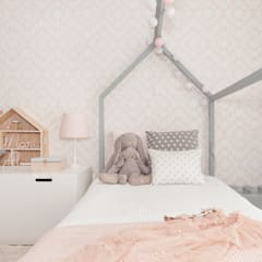 Recámaras para niñas de estilo  por This Little Room