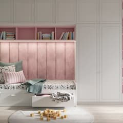 Girls Bedroom by Dinastia Designs