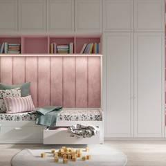ห้องนอนเด็กหญิง by Dinastia Designs