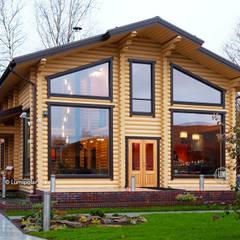 Onega 145: Деревянные дома в . Автор – LUMI POLAR