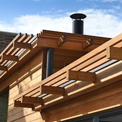 Cedar Cladding:  Houses by Hetreed Ross Architects