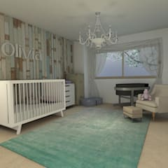 Baby room by MM Design