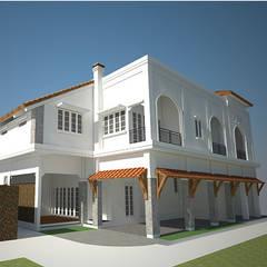 Cilandak House: Rumah tinggal  oleh Kahuripan Architect,