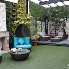 Terrace Garden Design By Studio Machaan:  Terrace by Studio Machaan
