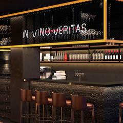Идеи дизайна барной стойки: Коммерческие помещения в . Автор – Art-i-Chok