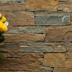 Muro de Piedras - Mampostería: Jardines de estilo  de AMAGARD ESPAÑA