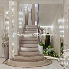 Cầu thang by Дизайн-студия элитных интерьеров Анжелики Прудниковой