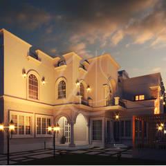 Classic Saudi Arabian Villa Exterior Design:  Villas by Comelite Architecture, Structure and Interior Design
