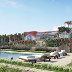 Kolam renang halaman by architetto stefano ghiretti