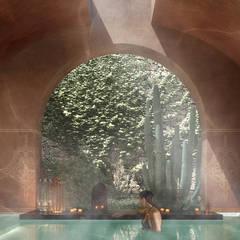 Baños Turcos de estilo  por architetto stefano ghiretti
