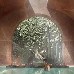 حمام بخار تنفيذ architetto stefano ghiretti,
