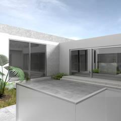 Salón de Belleza & Spa AC: Espacios comerciales de estilo  por Artem arquitectura, Moderno