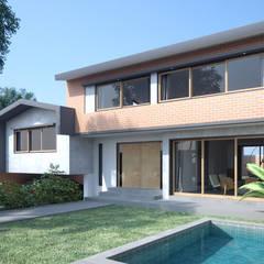 """Casa ''Los Crisantemos"""": Casas de estilo  por Artem arquitectura"""
