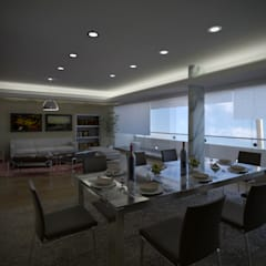 Dining room by Artem arquitectura,