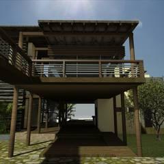 Casa Hospedaje Tumbes: Hoteles de estilo  por Artem arquitectura