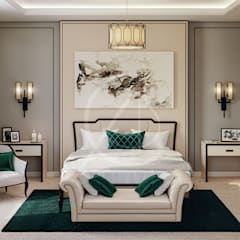 Master Bedroom:  Bedroom by Comelite Architecture, Structure and Interior Design