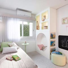 Girls Bedroom by ARQ Ana Lore Burliga Miranda, Minimalist