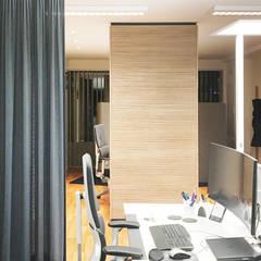 Arbeitsplatz:  Bürogebäude von Betz Interiors