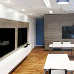 Konferenzraum:  Bürogebäude von Betz Interiors