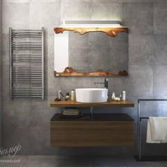 Дизайн-проект интерьера загородного дома: туалет: Ванные комнаты в . Автор – Студия Инстильер | Studio Instilier
