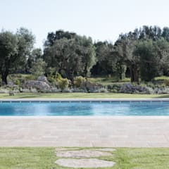 architetto stefano ghiretti:  tarz Bahçe havuzu
