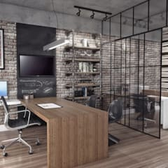 Study/office by Conceito22 Arquitetura Inteligente