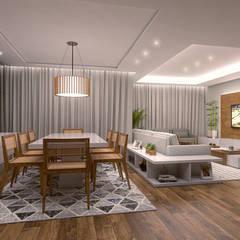 Sala de Jantar: Salas de jantar  por Conceito22 Arquitetura Inteligente