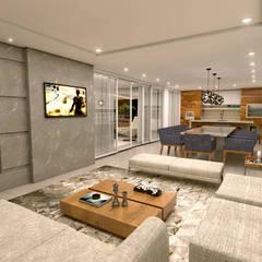 RESIDENCIAL SANTANA: Salas de jantar  por Conceito22 Arquitetura Inteligente