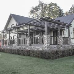 منازل التراس تنفيذ qoD.design архитектурная мастерская