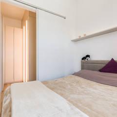 """Stadtwohnungen und Zweitwohnsitze –  muss ich auf das """"Zuhause-Gefühl"""" wirklich verzichten?  : ausgefallene Schlafzimmer von Horst Steiner Innenarchitektur"""