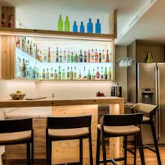 Was kann man aus seinem Keller herausholen?: rustikaler Weinkeller von Horst Steiner Innenarchitektur