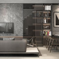 غرفة المعيشة تنفيذ Zeitlus Design