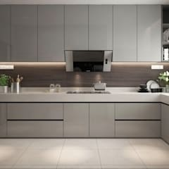 KITCHEN AREA:  Built-in kitchens by Zeitlus Design