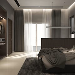 BANDAR MUTIARA :  Bedroom by Zeitlus Design