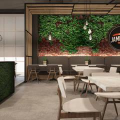 JAMES FOO WESTERN FOOD RESTAURANT:  Commercial Spaces by Zeitlus Design