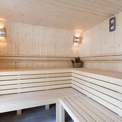 Sauna op maat van Cleopatra:  Sauna door Cleopatra BV