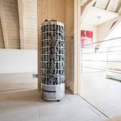 Mooie saunakachel:  Sauna door Cleopatra BV