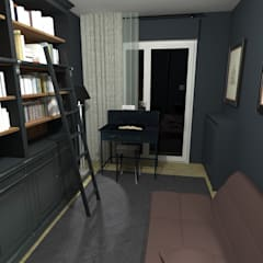 Study/office by Anne Lapointe Chila